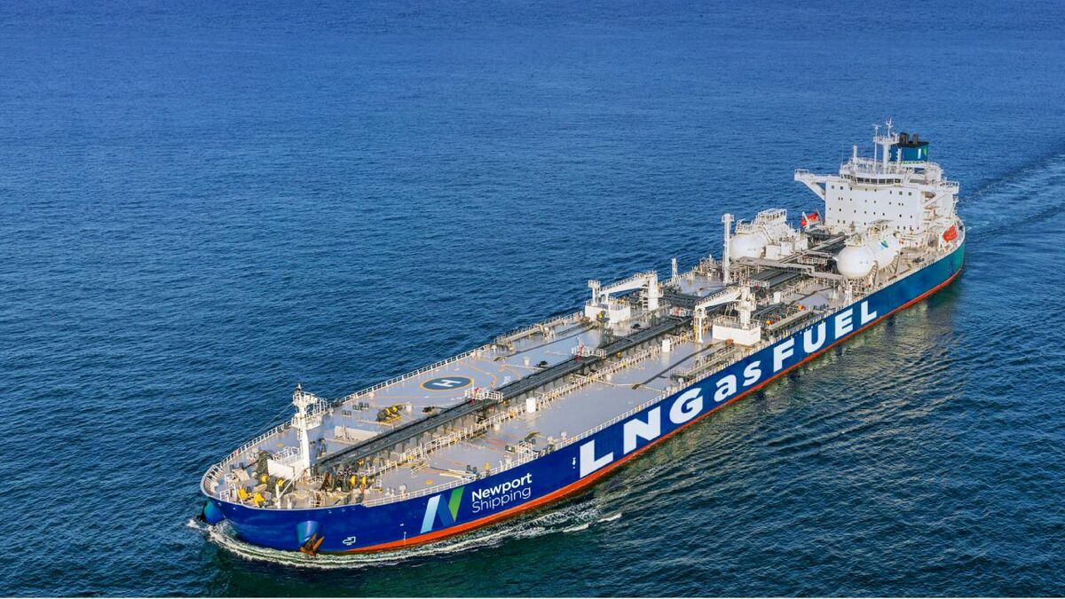 Newport Shipping Managing Director Lianghui Xia said hiring Mr Loges will strengthen the group's capacity to serve customers globally (Image: Newport Shipping)
