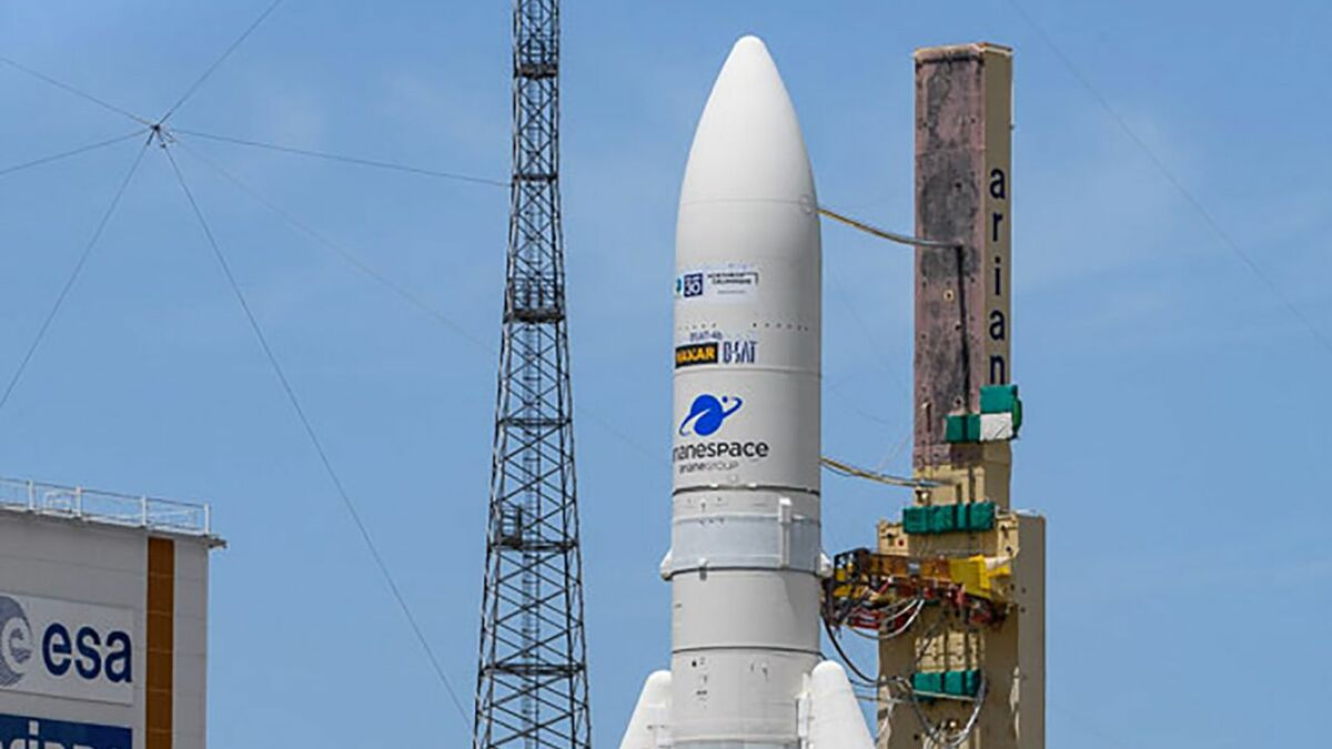 Ariane 5 launched MEV-2 and Galaxy 30 satellite into orbit (source: Arianespace)