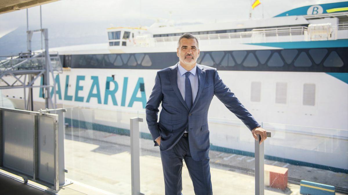 Baleària president Adolfo Utor pushed on with his commitment to an LNG-powered fleet through the dark days of the pandemic (Image courtesy Baleària)