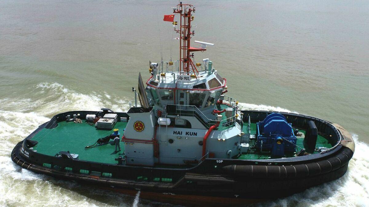 Cheoy Lee built Hai Kun for Yiu Lian Dockyards to RAstar 3200-CL design (source: RAL)