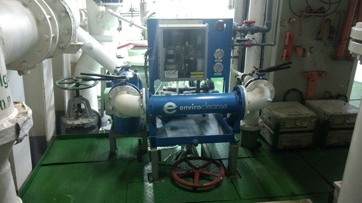 Envirocleanse InTank ballast water treatment system sold to Scienco/Fast