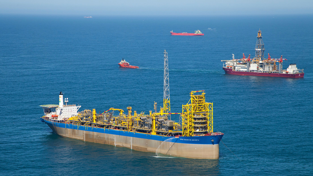 FPSO Cidade de Anchieta is one of 11 FPSOs supplied by SBM Offshore to Brazil in the last 16 years (image: SBM Offshore)