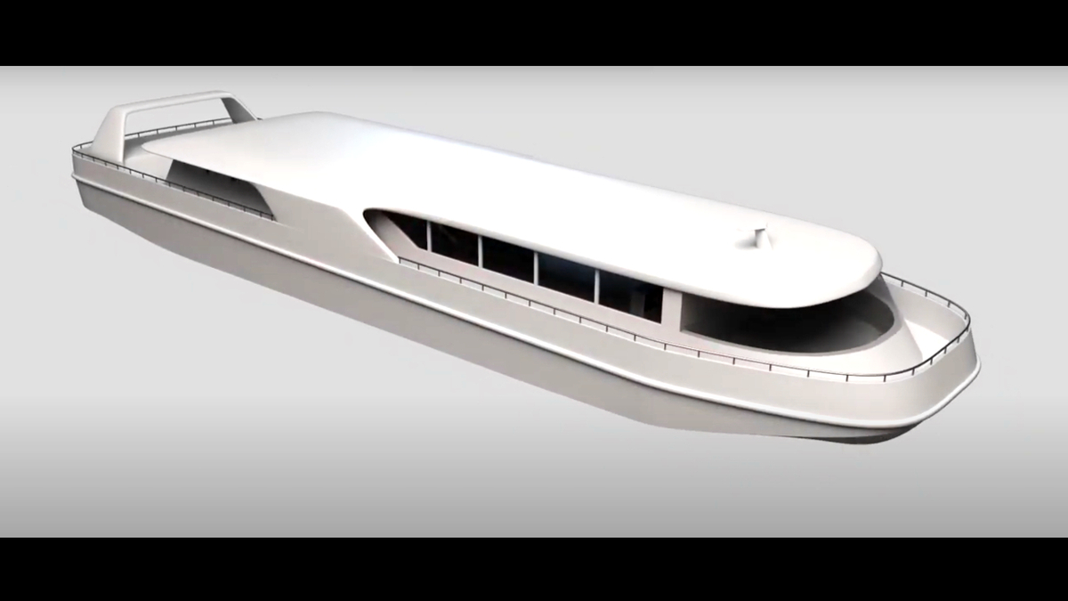 Hydrogen fuel cell ferry will have a passenger capacity of 100 (Source: Kawasaki)