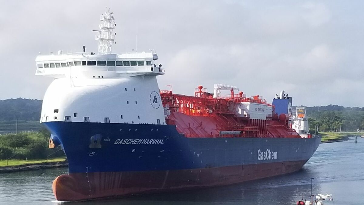 Connectivity on Hartmann's GasChem Narwhal will accelerate digitalisation