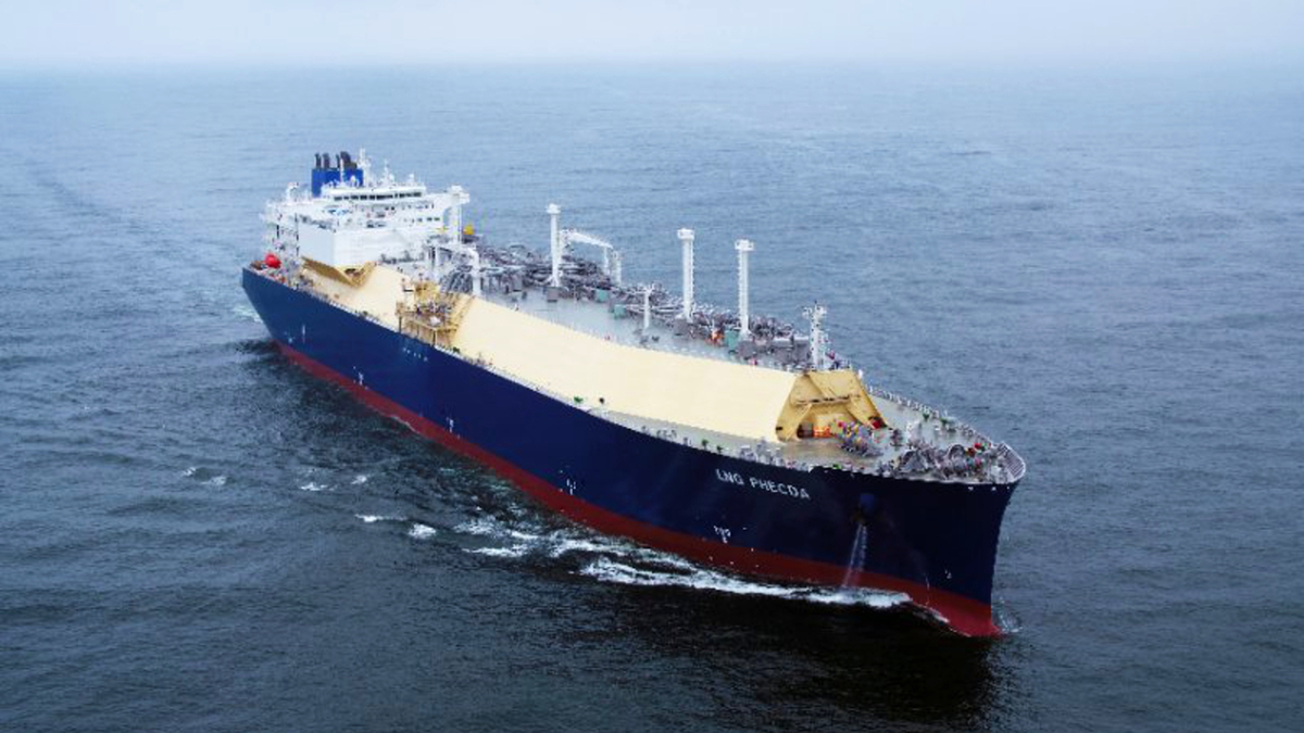 LNG Phecda is outfitted with WinGD's Otto-cycle, low-pressure X-DF main engines