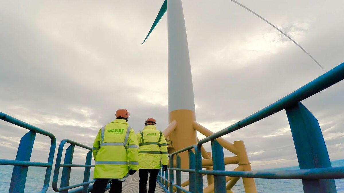 The ORE Catapult has extensive experience of offshore wind turbines at the 7-MW Levenmouth demonstration site in Fife