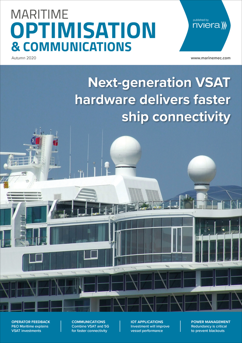 Maritime Optimisation & Communications Autumn 2020