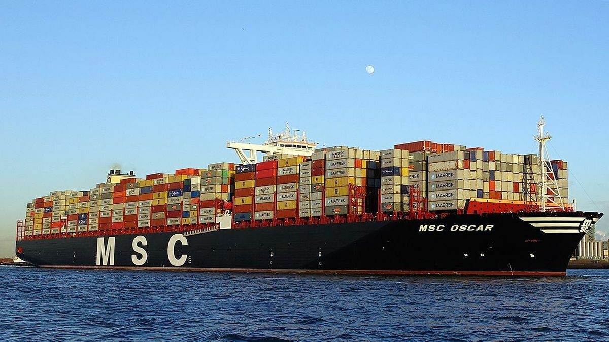 MSC's container ships continued to operate during a cyber incident in May 2020