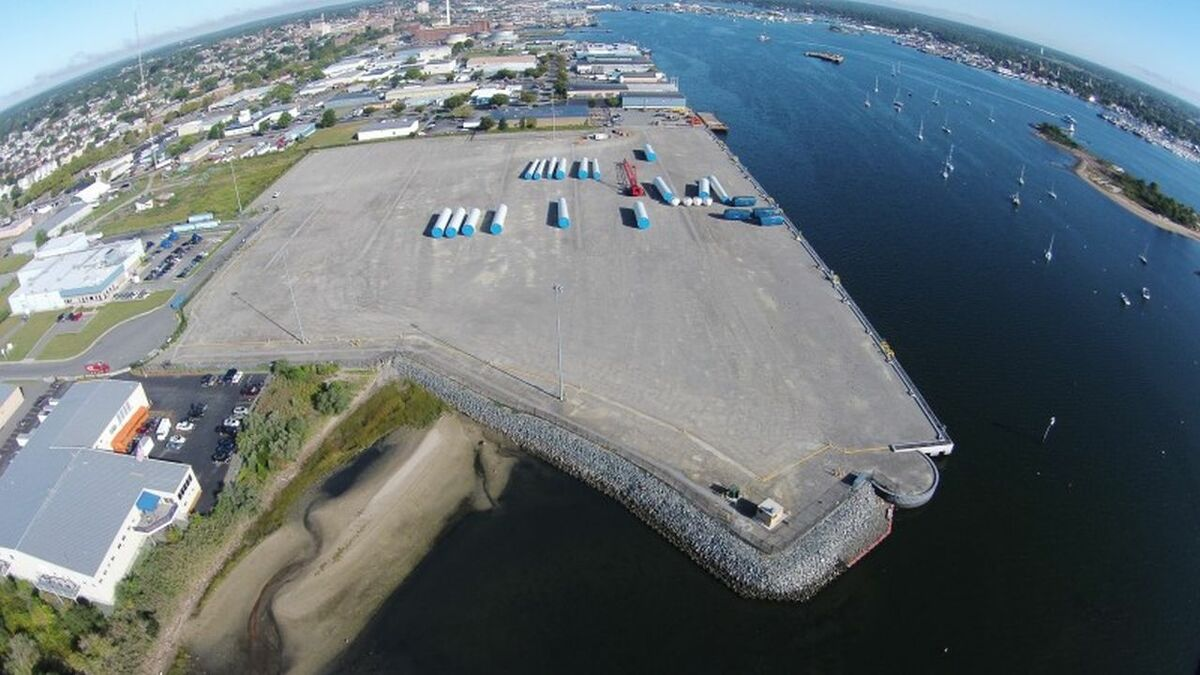 The New Bedford terminal is a heavy-lift facility designed to support the construction, assembly and deployment of offshore wind projects