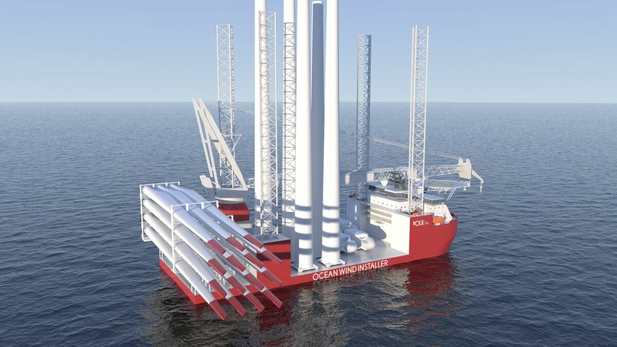 Vard's new vessel for Ocean Installer is being designed with installation of next-generation turbines in mind