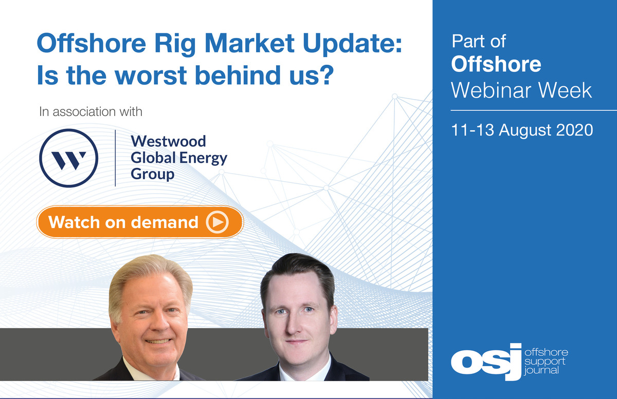 Offshore Rig Market Update webinar