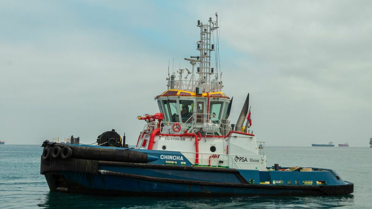PSA Marine Peru operates Chincha tug in Callao port (source: PSA Marine)
