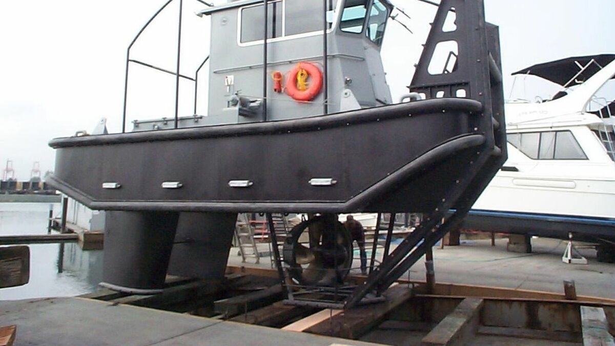Schottel supplied propulsion to US Navy docking tugs (source: Schottel)