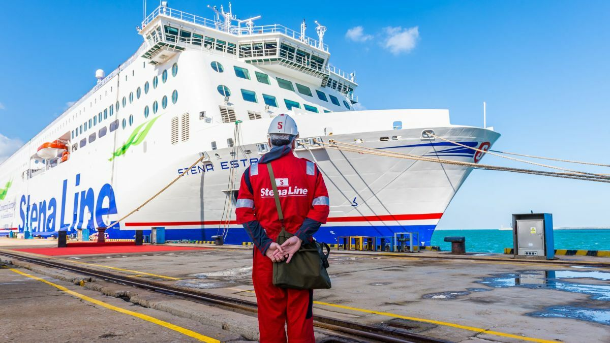 Stena Lines' Astrid has installed the 100th Survitec Marin Ark 2 system (image courtesy Stena Lines)