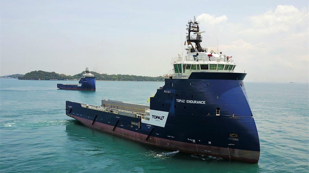 Team Nigeria Offshore operates 14 Nigerian-flagged OSVs, including Topaz Endurance (image: P&O Maritime)