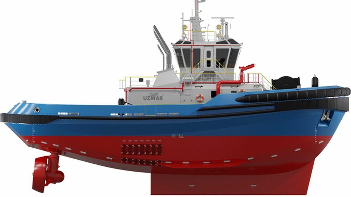 Four tugs will be built by Uzmar to RAstar 3200W design (source: Uzmar/RAL)