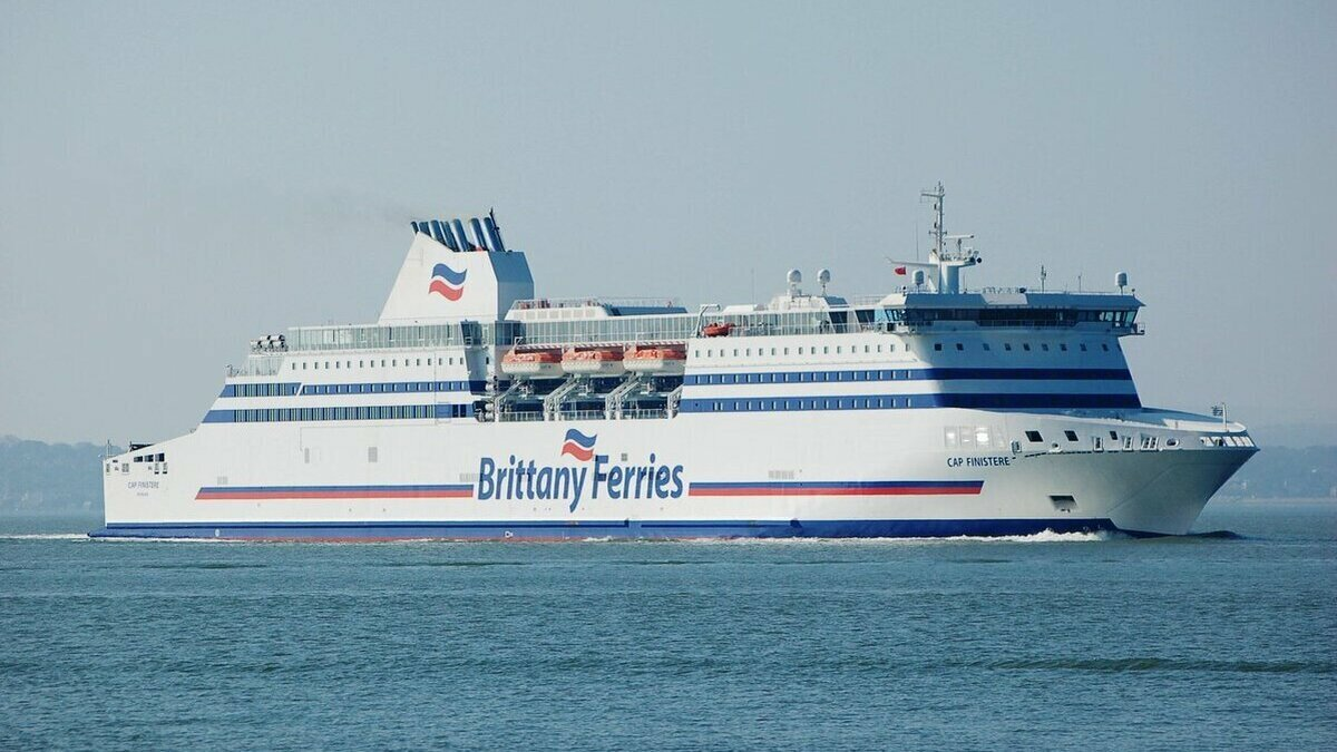 Brittany Ferries and Wärtsilä partnership cuts fuel consumption
