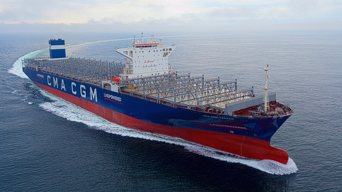 CMA CGM Tenere has the first ME-GI engine with a PVU and PBIV developed by MAN Energy Solutions (image: EPS)