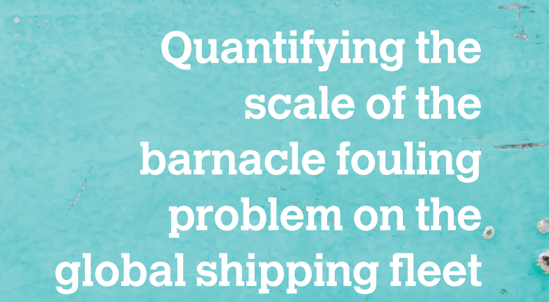 Quantifying the scale of the barnacle fouling problem on the global shipping fleet
