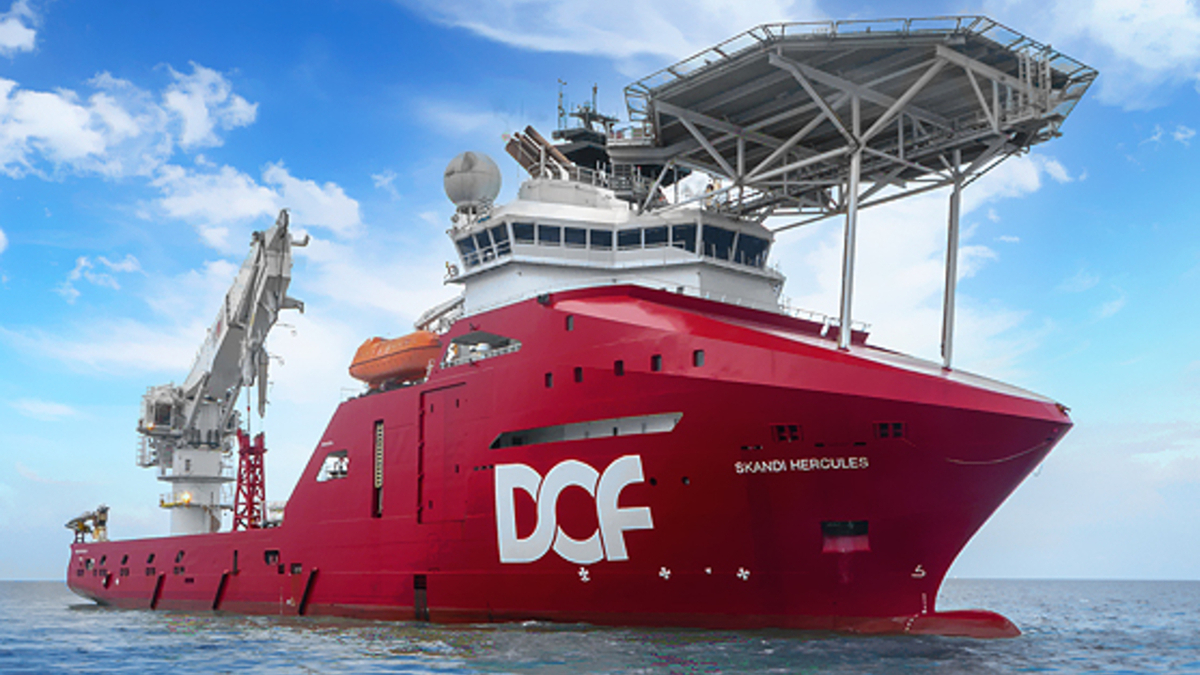 DOF Subsea's Skandi Hercules will have 'significant utilisation' in southeast Asia under a new contract until early Q4 2020