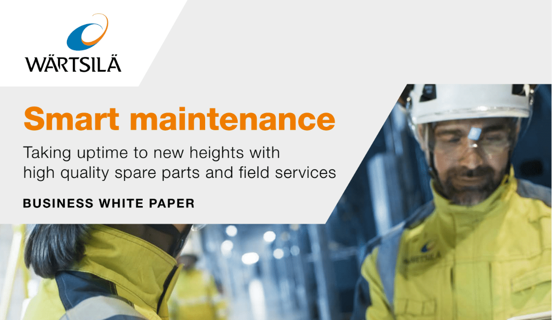Smart Maintenance : Taking uptime to new heights with high quality spare parts and field services