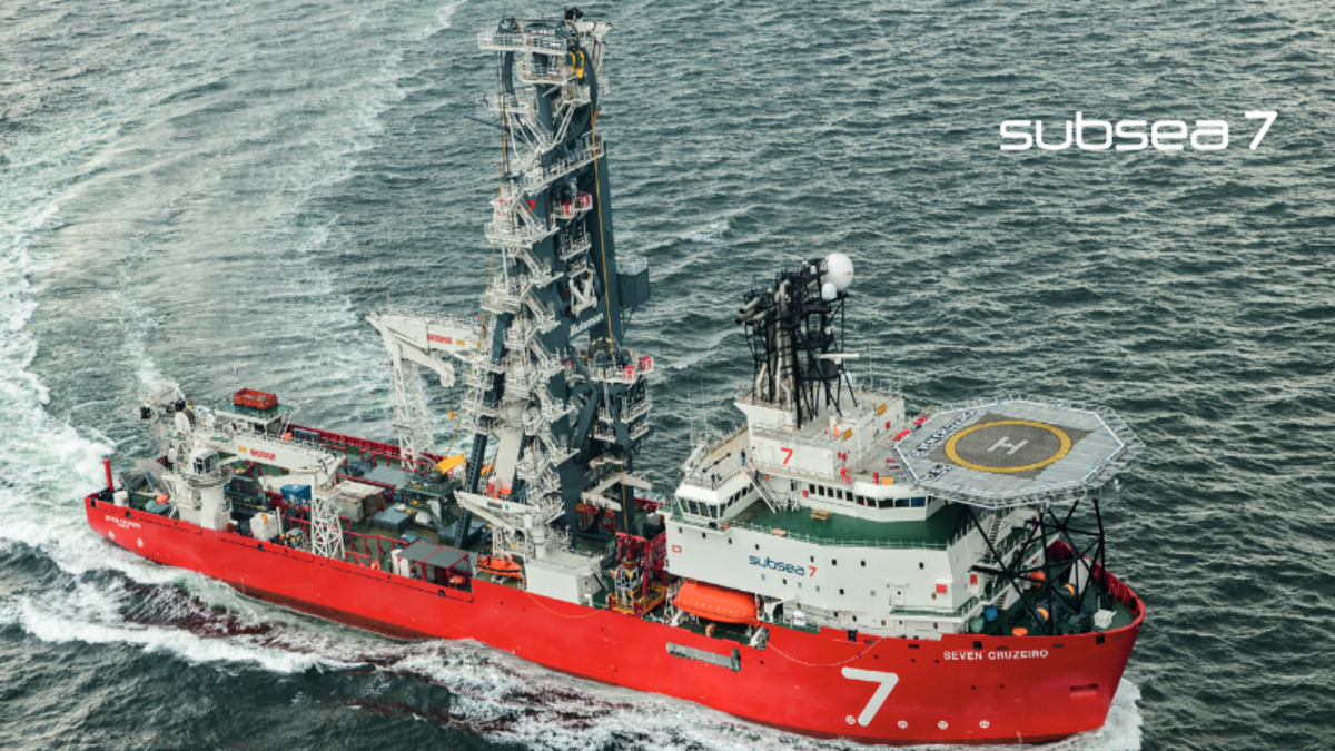 Seven Cruzeiro will operate at a new day-rate from 1 August 2020 (Image: Subsea 7)