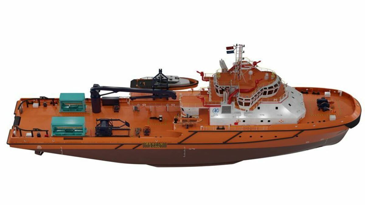 Kuwait Oil will operate a multi-purpose oil spill response vessel in Kuwaiti and international waters (Image: Evac)