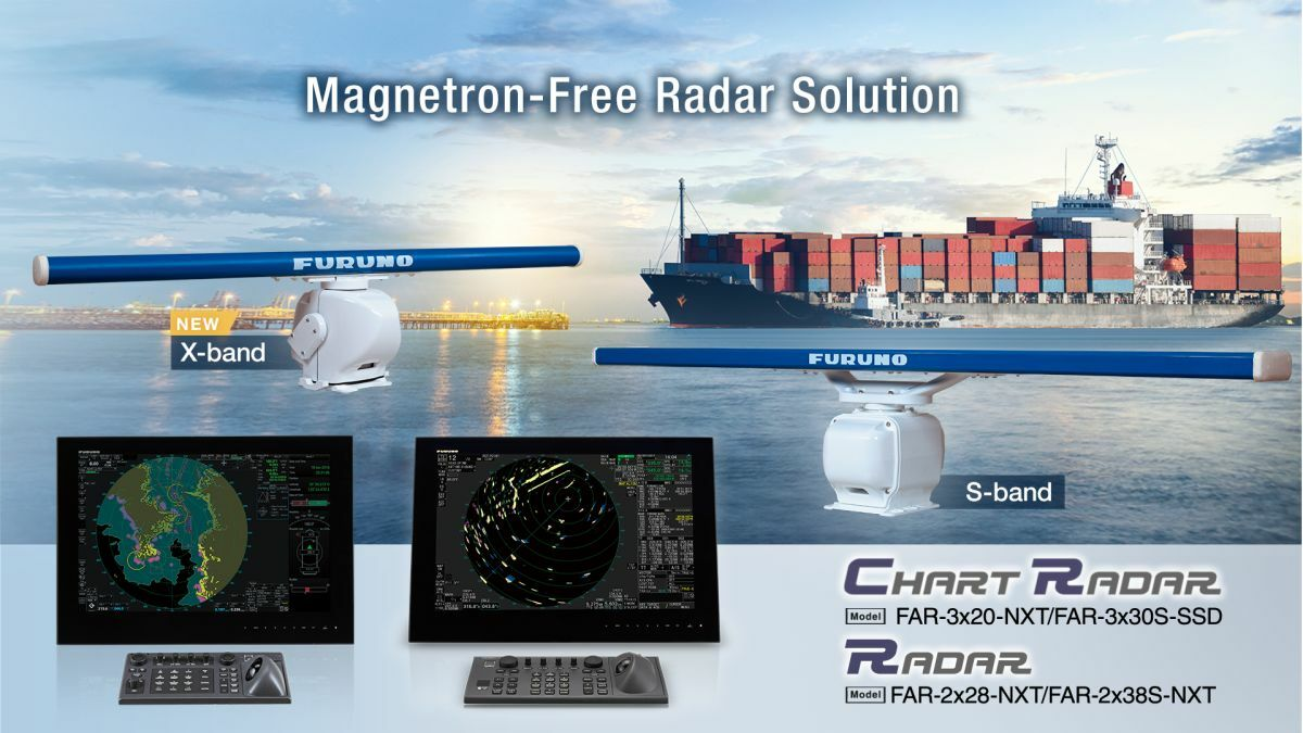 Furuno launches the first IMO-compliant X band and S band Radar package