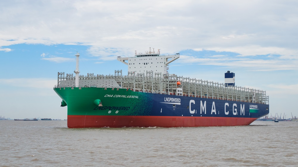 CMA CGM Group is supporting the production of 12,000 tonnes of biomethane