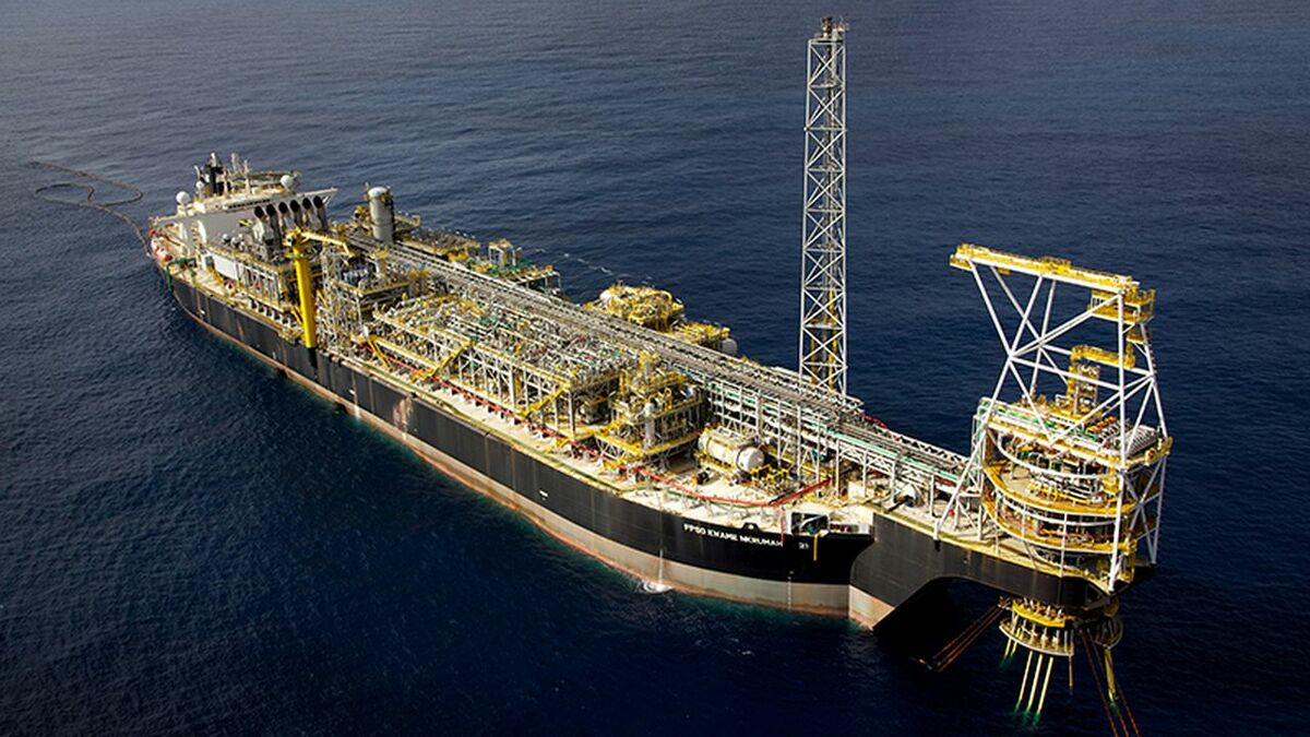 Software on Modec's FPSO Kwame Nkrumah was upgraded to IBM Maximo (source: SRO)