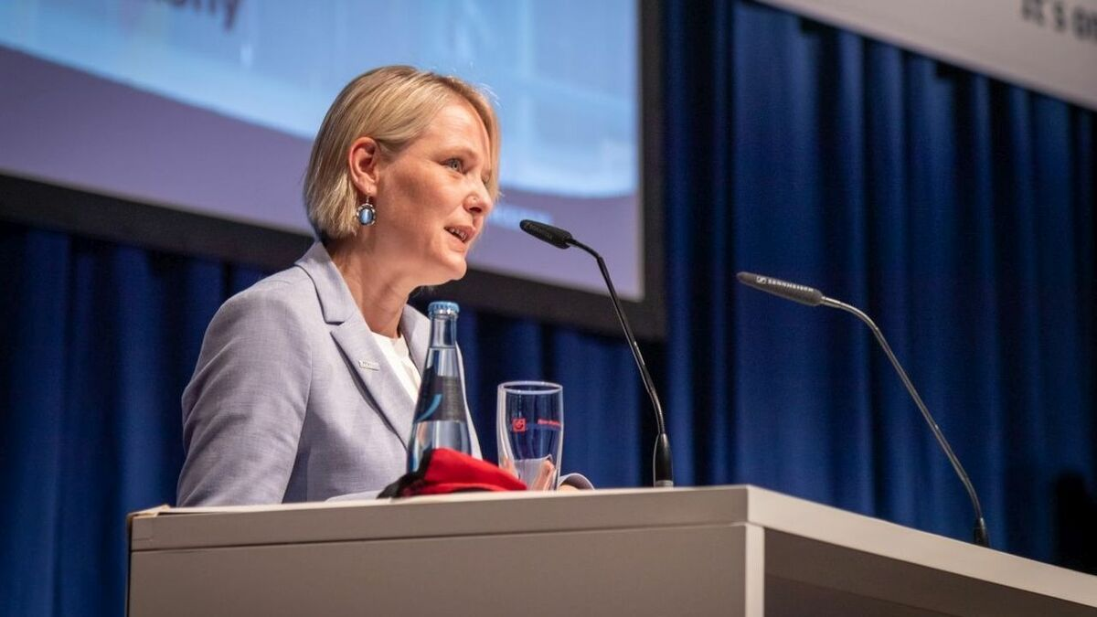 "Heike Winkler: ""companies can only benefit from long-term perspective if they can survive the next few years"" (photo: WAB/Wirrwa)"