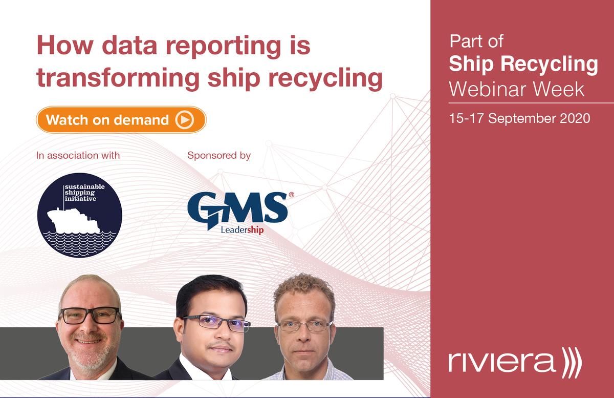 How data reporting is transforming ship recycling panel