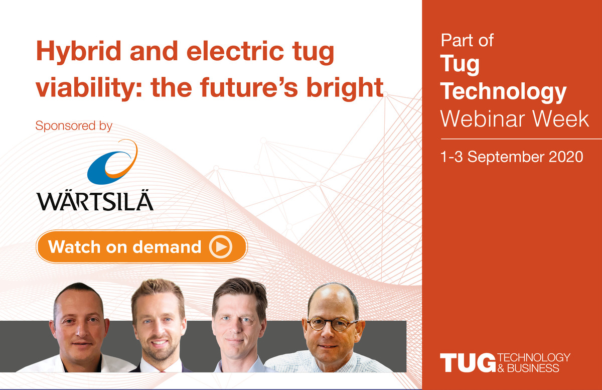 Hybrid and electric tug viability webinar panel