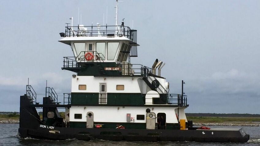 US tugboat fleet expanded as construction begins on a new inland port