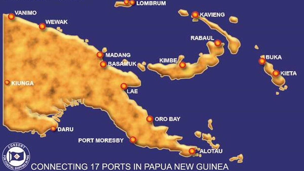 Consort Express Lines calls at 17 ports in Papua New Guinea (source: CEL)