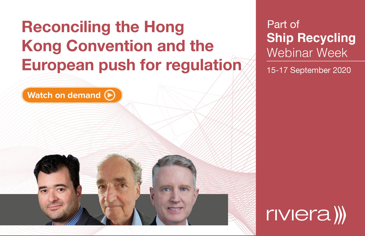 Reconciling the differences in ship recycling webinar