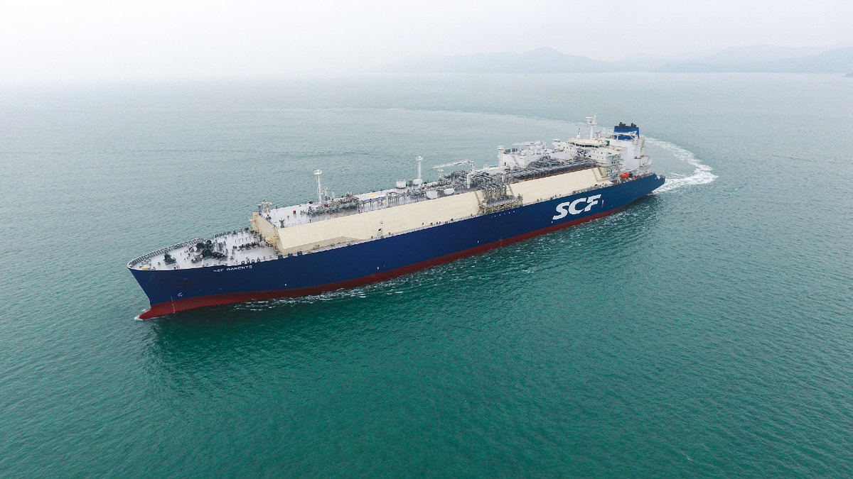 Following the delivery of SCF Barents, SCF has a fleet of 15 gas carriers, with another 16 on order