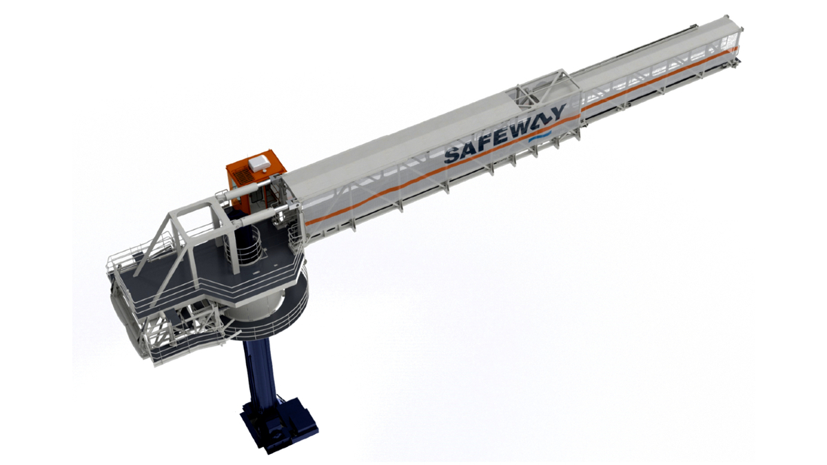 With special features such as 'hover mode', Safeway Gannet is well suited for W2W applications in offshore wind (source: Safeway)