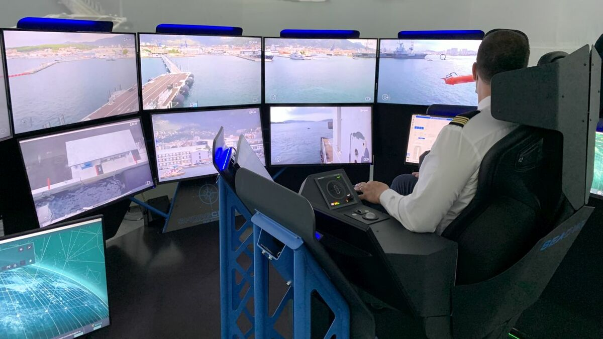 SeaOwl tested remote vessel control from a centre in France (source: Marlink)