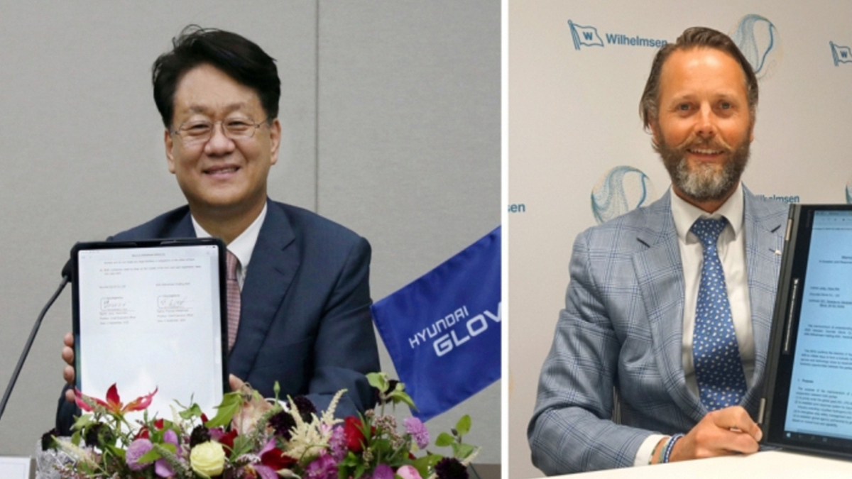 Wilhelmsen, Hyundai Glovis sign MoU for hydrogen fuel