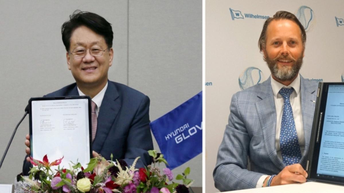 Wilhelmsen and Hyundai Glovis have deepened their ties with a wide-ranging agreement (Image: Wilhelmsen)
