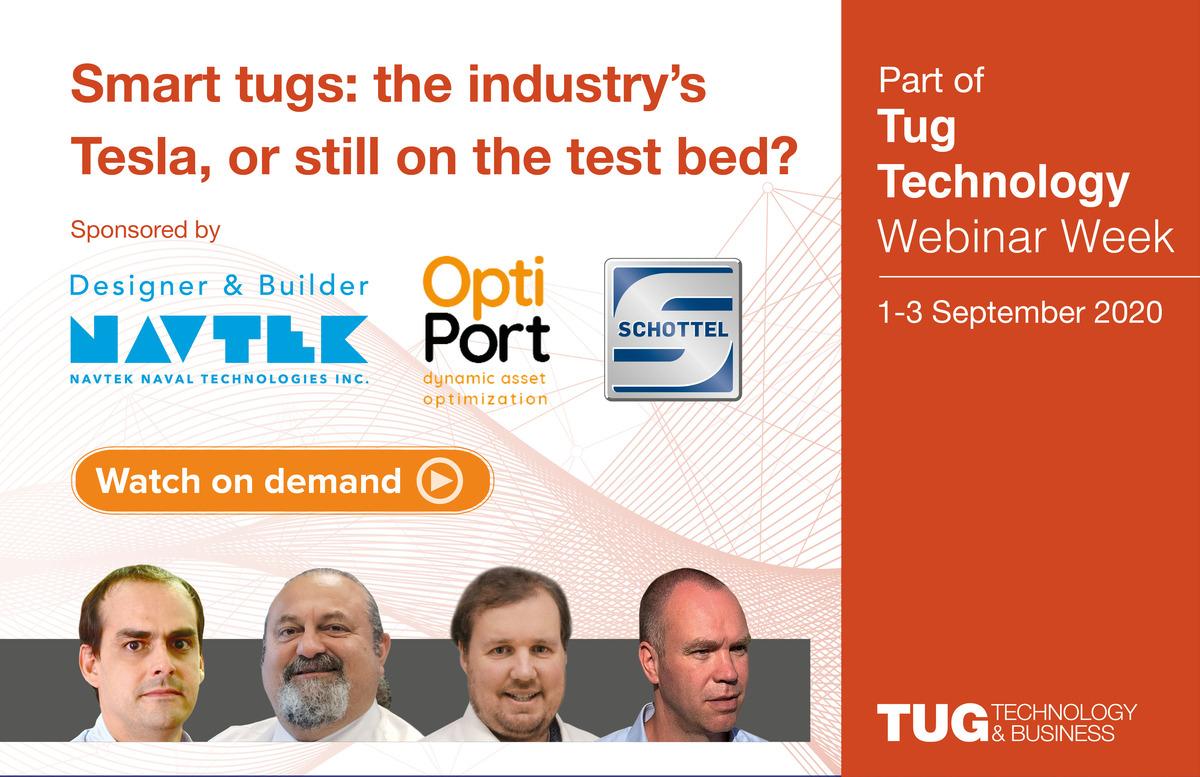 Smart tug webinar panellists