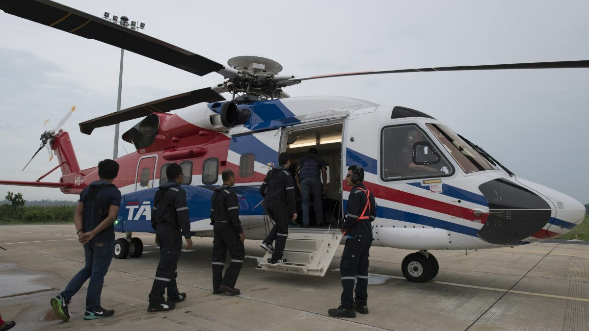 Headwinds push down offshore rotorcraft activity