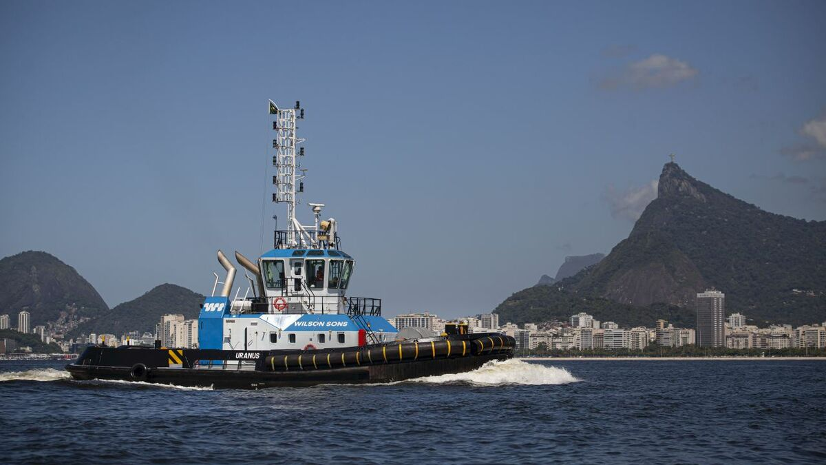Wilson Sons invested in AI and IoT on its tugs in Brazil (source: WS)