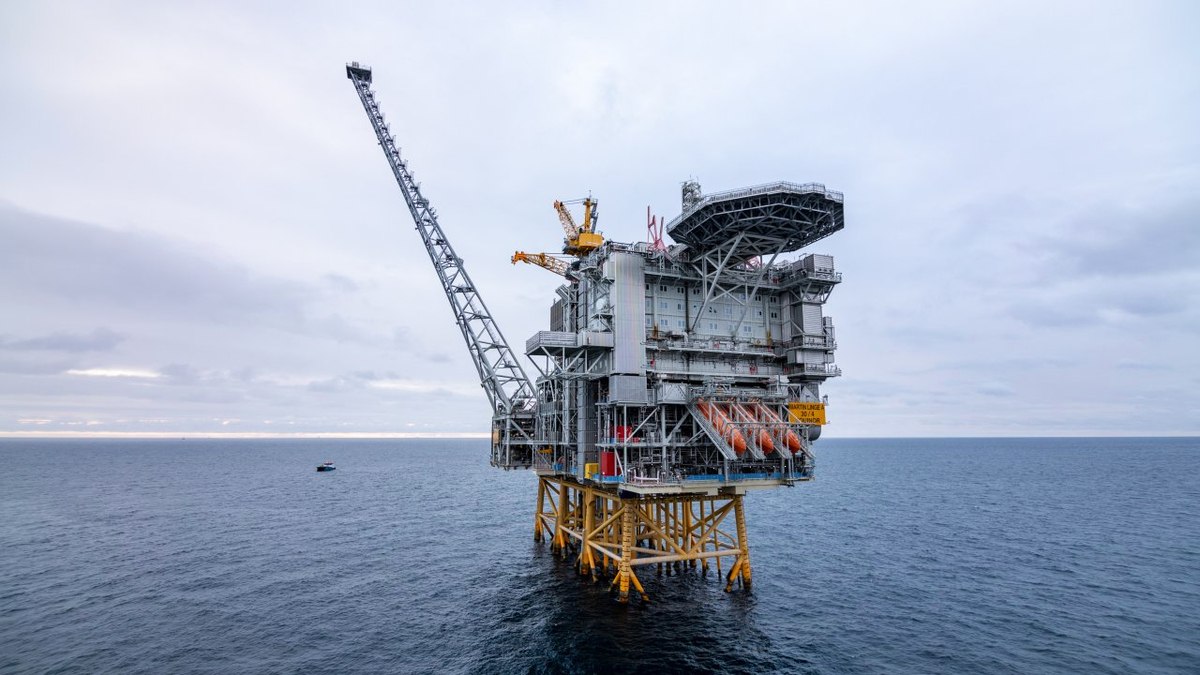 The Martin Linge field development is connected to shore power, substantially cutting CO2 emissions from operations (Source: Equinor)