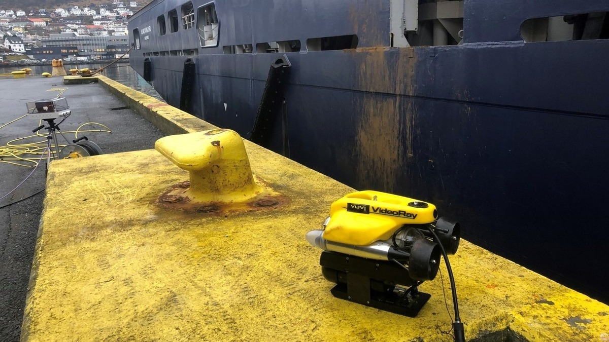 DNV GL completes remote in-water ship surveys using ROVs