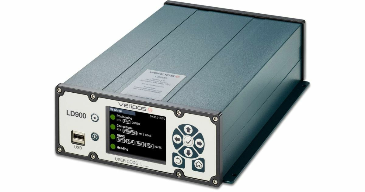 OSVs can use LD900 to obtain precise and reliable positioning data (Source: Veripos)