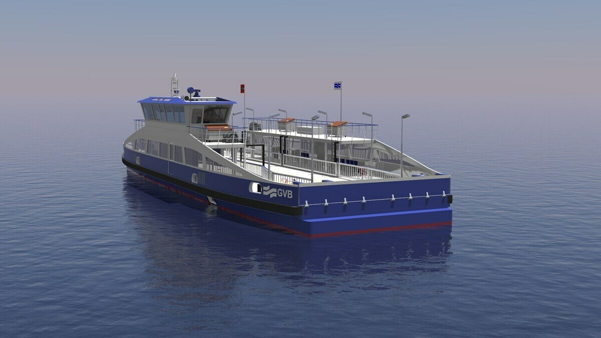 Amsterdam goes all-electric for five GVB ferries