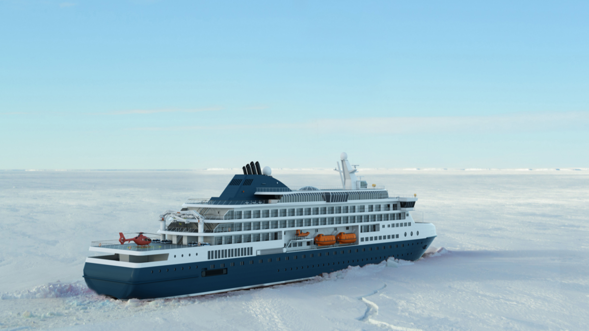 Knud E Hansen publishes icebreaking expedition cruise vessel design