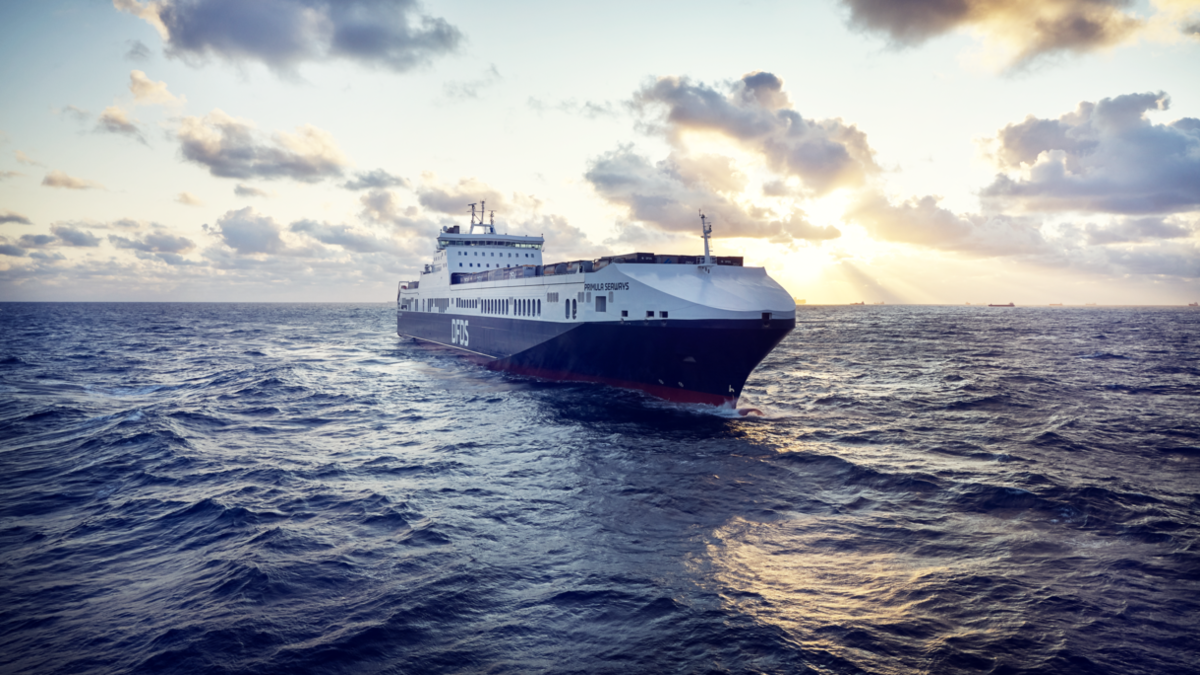 DFDS ferries sailing from Dover will have Greensteam technology on board (source: RMM)